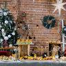 Фуршет стилизованный Новогодний крафт на 20-25 персон