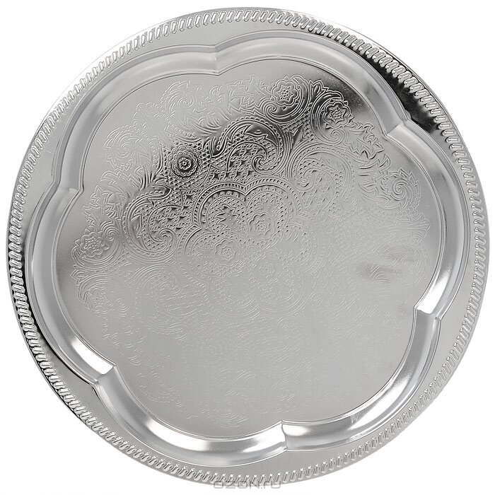 Блюдо круглое металл, 31 см