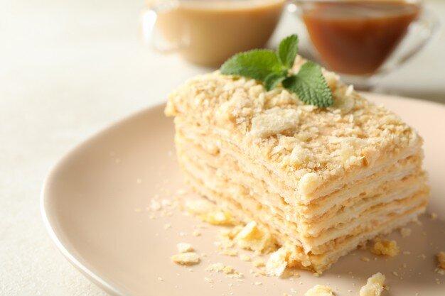 Мини-пирожное Наполеон