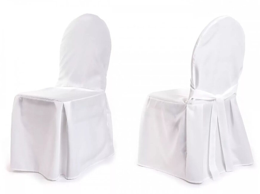 Чехол на стул с бантом