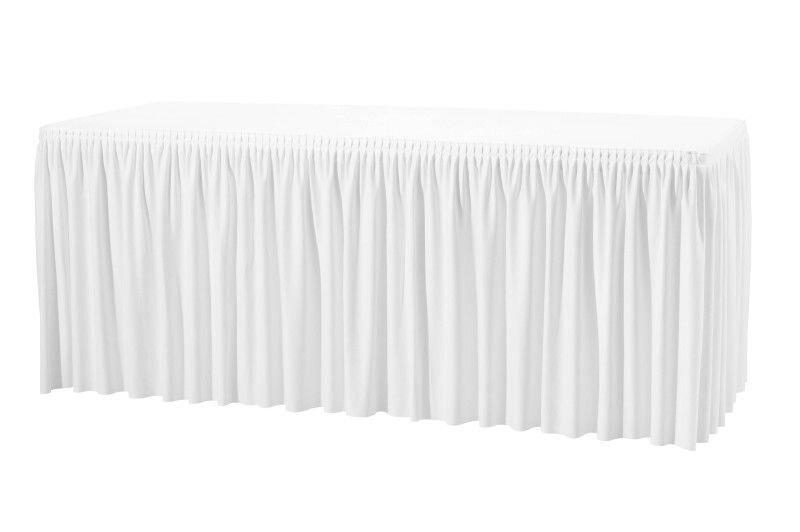 Комплект скатерть и юбка на прямоуголный стол 180х76 см